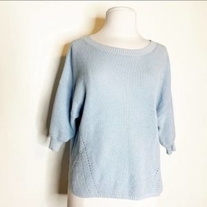 Azul by Moussy knit popover top sweater